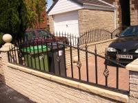 Railings  - Arched Wall Panels