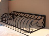 Security - Bowed Cellar Grille