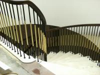 Elliptical Stair and Balustrade.